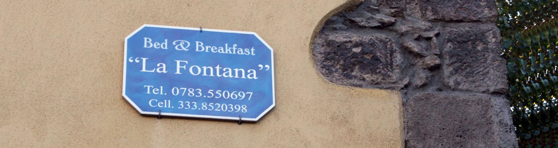 Insegna Bed & Breakfast - Le nostre targhe sono studiate con il cliente per meglio armonizzarsi con il contesto urbano